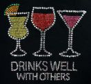 Rhinestones - Drinks Well With Others